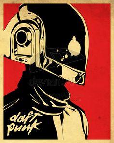Awesome Daft Punk Inspiration   Abduzeedo Design Inspiration & Tutorials