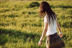 skirt and hair tassles!