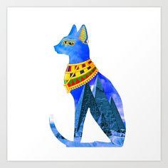 Egyptian cat.
