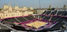 Horse Guards Parade looking stunning for the beach volleyball. Photo by Mike King