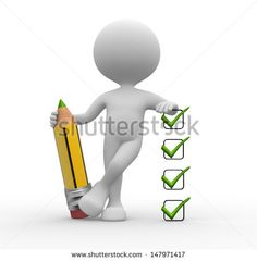 Checklist And Person Stock Photos, Images, & Pictures Powerpoint Design Templates, Powerpoint Background Design, Screen Beans, Powerpoint Animation, 3d Human, Sculpture Lessons, Stick Art, Creative Poster Design, Art Drawings For Kids
