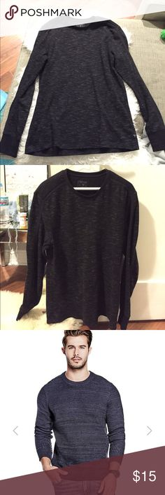 Men's Guess sweater Super cozy 100% polyester sweater by Guess. Size L. Also works as an oversized boyfriend sweater for women. Guess Sweaters Crewneck
