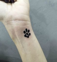 Awesome Pretty Paw Tattoos Design
