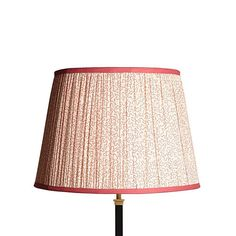 straight empire gathered lampsahde in block printed cotton Lampshades Jaipur, Pooky Lighting, Wedding Gift List, Brass Lamp, Shop Lighting, Muted Colors, Lampshades, Pantone Color, Inspirational Gifts