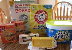 DIY Powdered Laundry Detergent