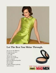 "Mad Men ""Emmy Consideration"" Ad (5 of 8)"