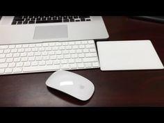 Apple Magic Mouse 2, Magic Trackpad 2, Magic Keyboard Unboxing & Setup