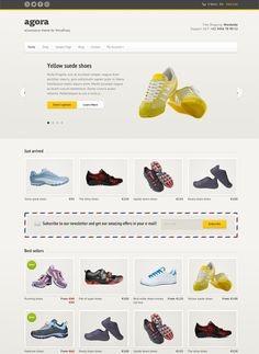 Agora – A Responsive eCommerce WordPress Theme powered by WooCommerce