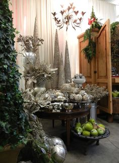 from the Monticello Vintage Christmas Showy have 3 icicle cone trees...refurbish??