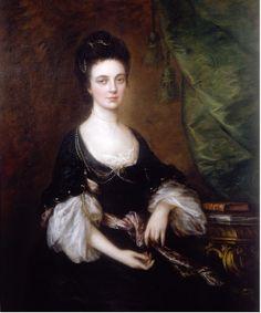 Mrs Unwin, 1770, by Thomas Gainsborough