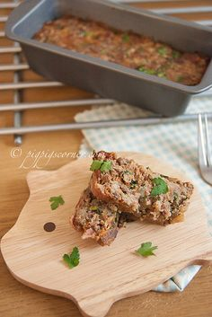 Meatloaf with Roasted Garlic