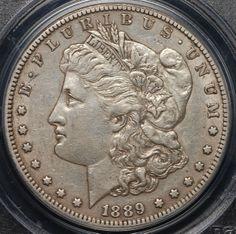 1889-CC Morgan Silver Dollar Carson City - Obverse