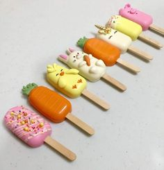 Easter Cake Pops, Easter Cookies, Easter Treats, Cakepops, Paletas Chocolate, Magnum Paleta, Yummy Ice Cream, Chocolate Potato Chips, Cake Truffles