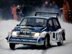 Metro 6R4 - Sweden 1986 - Malcolm Wilson