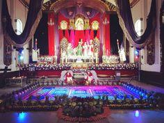 #LaSemanaSantaDelCucurucho es visitar los hermosos altares de Velación en un #ViernesDeDolores Este es el de @cristoreycande