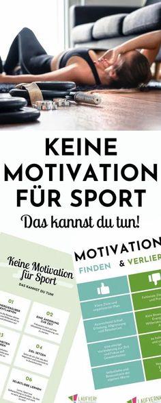 Keine Motivation für Sport? Hier findest du Hilfe, um dich endlich zum Training aufzuraffen! Die besten Tipps und Tricks, wissenschaftlich fundiert.