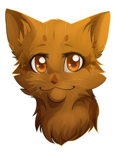 Amberlight, shecat. Loyal,kind,sweet and brave. Her mate is Graypelt. Fast ,trustworthy skilled at battle. She is in cloudclan.