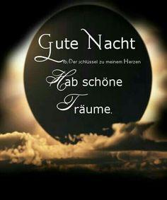 Gute Nacht...Sweet dreams...