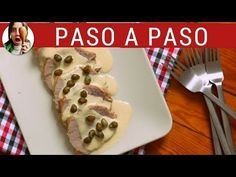 VITEL TONÉ recipe for christmas: How to do vitel toné very easy. Pan Dulce, Empanadas, Salad Recipes, Waffles, Cooking Recipes, Meat, Chicken, Dinner, Breakfast