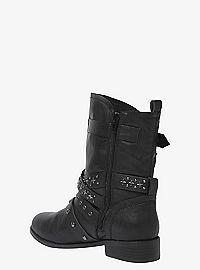 TORRID.COM - Studded Strap Moto Boots (Wide Width)