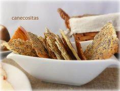Aperitivo fácil y perfecto para servir con patés, cremas de untar o quesos.