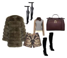 """""""EITHER OR"""" by cole222 on Polyvore featuring Alice + Olivia, Carven and Karen Walker"""