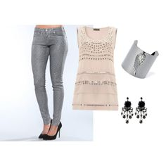 """Fun flirty outfit"" by sweetdeb on Polyvore"