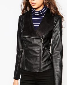 Cute leather jacket mines better