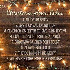 Christmas House Rules!