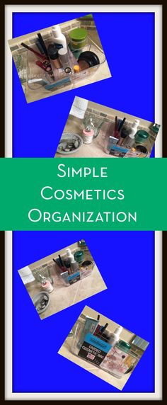 Looking for a simple way to organize your makeup? After a big declutter, here's how I started storing my cosmetics.