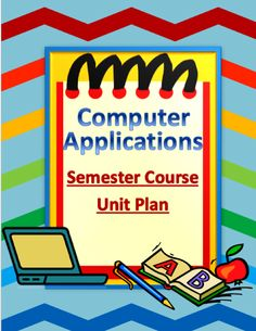 Teachers!! I am selling a WHOLE SEMESTER step by step daily lesson plans with all materials for Computer Applications that I have made myself. To check it out go here:  http://www.teacherspayteachers.com/Product/Computer-Applications-Daily-Lesson-Plans-with-Materials-for-WHOLE-SEMESTER-1206127