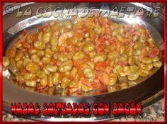 La cocina de Maetiare: Habas salteadas con bacón