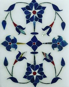 Islamic Art Pattern, Pattern Art, Islamic Tiles, Agra Fort, Indian Flowers, Creative Walls, Islamic Calligraphy, Tile Art, Indian Art