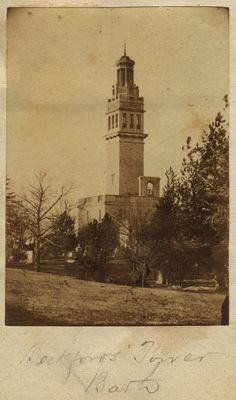 An undated photograph of Lansdown Tower