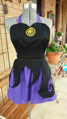 Adult URSULA The Little Mermaid Costume by QueenElizabethAprons, $69.99