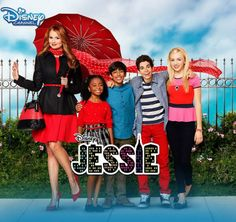 Peyton List, Cameron Boyce, Skai Jackson, Debby Ryan, and Karan Brar in Jessie Cameron Boyce, Dave Cameron, Best Tv Shows, Favorite Tv Shows, Movies And Tv Shows, Disney Channel Shows, Disney Shows, Full Episodes, Old Disney