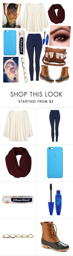 """OMG THANK YOU GUYS SOO MUCH!!! (Read D)"" by one-of-those-nights ❤ liked on Polyvore featuring H&M, Topshop, Chapstick, Maybelline, Sole Society and Merona"