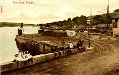 Old Photo of The Quay - Penryn - Cornwall