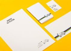 Arriére du peloton by amiel lammersdorf, via Behance Stationery, Behance, Paper Mill, Stationery Set, Office Supplies