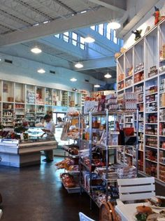 The quaint but modern Modica Market in Seaside, FL takes you back in time.