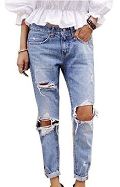 24f8896223c Ripped jeans for women – acceptable