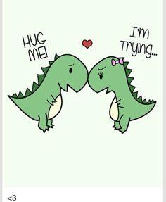 Cute Trex love