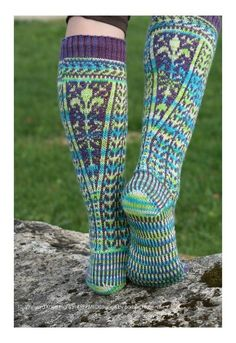 KOIGU WOOL DESIGNS generally known to the consumer as Koigu. Koigu represents color, multitude of colors. Crochet Socks, Knit Or Crochet, Knitting Socks, Hand Knitting, Knit Socks, Fair Isle Knitting, Knitting Projects, Lana, Knitting Patterns