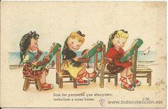 POSTAL EDICIONES CMB SERIE Nº 40.- (Postales - Dibujos y Caricaturas)