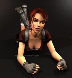 Tomb Raider Legend: Lara Croft (Tanya's Version) 2 by Irishhips.deviantart.com on @deviantART