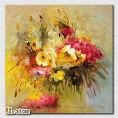 Reproducción de la textura abstracta flores de extremo a extremo pintura sala de estar decoración de la habitación-Pintura y Caligrafia -Identificación del producto:1945794603-spanish.alibaba.com