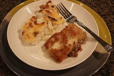 Never trust a skinny cook....: Potato thyme crusted cod