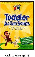 Cedarmont Kids Toddler Action Songs DVD