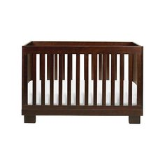 """Babyletto Modo 3-in-1 Convertible Crib with Toddler Rail - Espresso - Babyletto  - Babies""""R""""Us"""