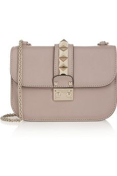 Valentino Glam Lock small leather shoulder bag | NET-A-PORTER- WANTED :)))))